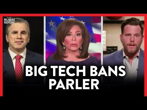 Parler Banned on Amazon Servers & Apple, Google Stores, Dave Rubin Responds| POLITICS | Rubin Re