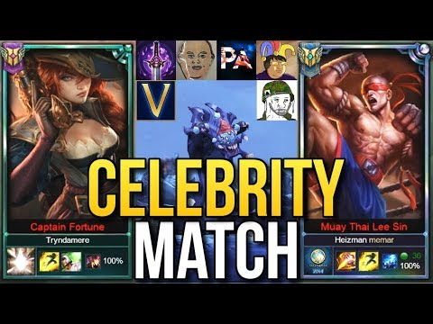 I PLAYED WITH THE CEO OF RIOT MARC MERRILL | CELEBRITY GAME FT. PHREAK & MORE - League of Legends