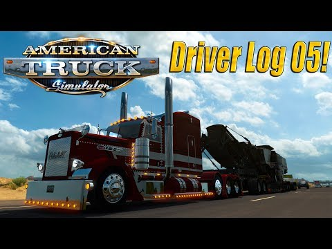 American Truck Simulator: Driver Log 5 - Back on the Road!