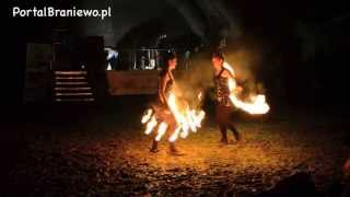 Braniewo, Hubertus - taniec z ogniem