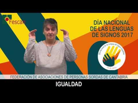 Día Nacional de las Lenguas de Signos 2017