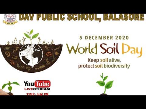 WORLD SOIL DAY - 05 DEC 2020
