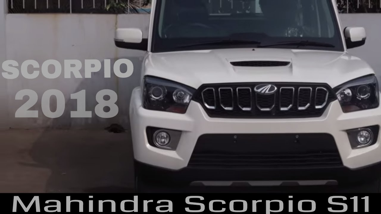 Mahindra Scorpio S11 2018 4wd Full Review On Road Price