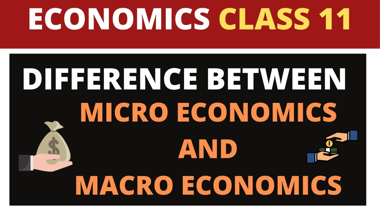 differences between micro and macro economics 1 micro economics studies the behaviour of economic behaviour of individual economic variables and individual economic unitss whereasmacro 3micro economics is of great help while formullating appropriate price levels for proper resource alocation at individual firm levelswhereas.