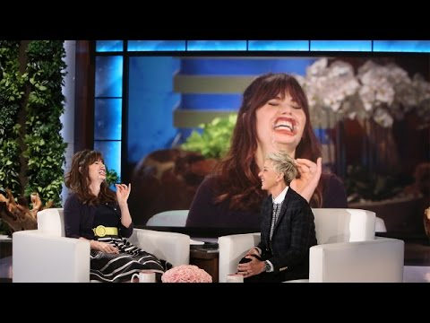 Zooey Deschanel Plays 'Speak Out'