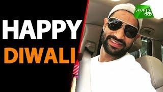 Gabbar wishes Happy Diwali | Sports Tak