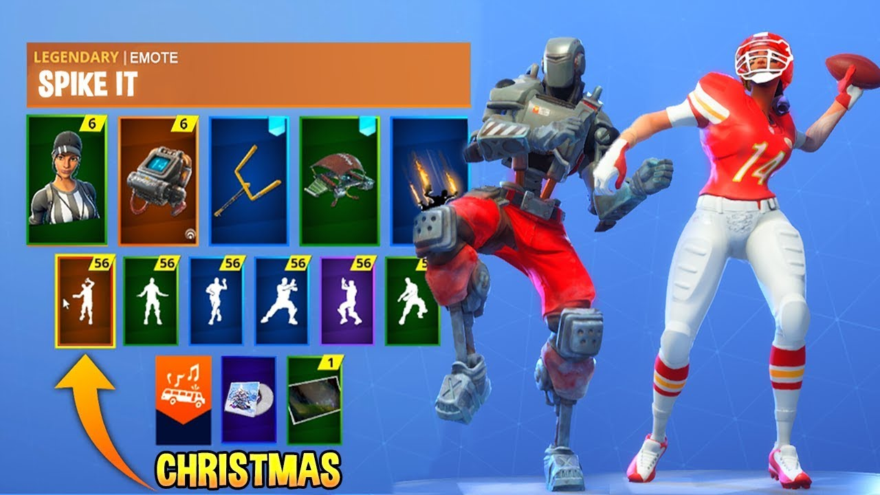 *NEW* Fortnite Skins & Emotes! Touchdown Emote, Hunting ...