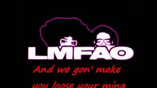 LMFAO - Party Rock Anthem / Lyrics , HQ/HD