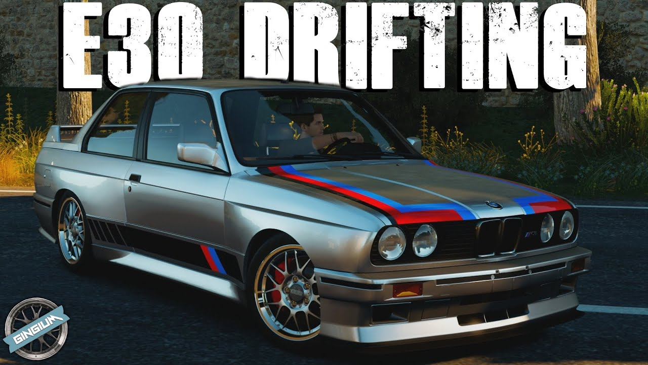 BUDGET BUILD BMW M E DRIFT BUILD Forza Horizon - 1991 bmw m3