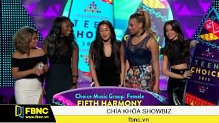 FBNC - Little Mix giành giải nghệ sỹ đột phá tại Teen Choice Awards 2015
