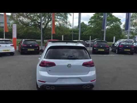 Volkswagen Golf R in White Silver | Car Tour | Crewe VW