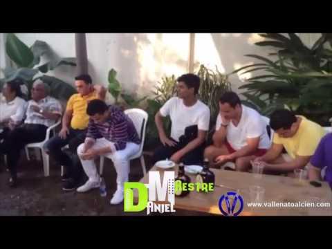 Video de Daniel Maestre con Silvestre Dangond parrandeando en Urumita