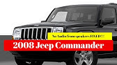 Fuse Box Location And Diagrams Jeep Commander 2006 2010 Youtube