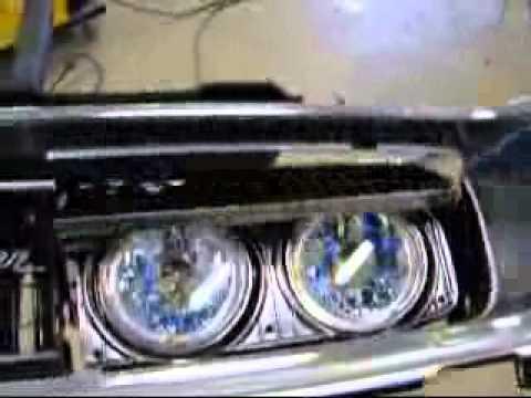 2 Door Charger >> 68 Charger headlight door linar actuator - YouTube