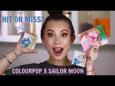 COLOURPOP X SAILOR MOON COLLECTION REVIEW