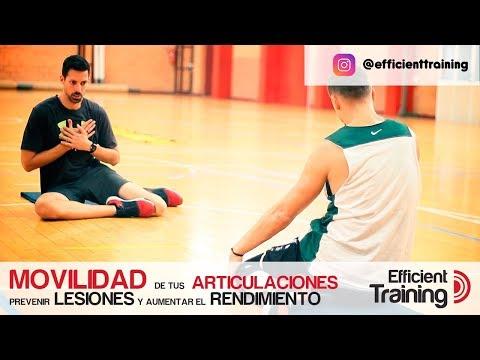 Ejercicios prevención lesiones en baloncesto, movilidad articular.