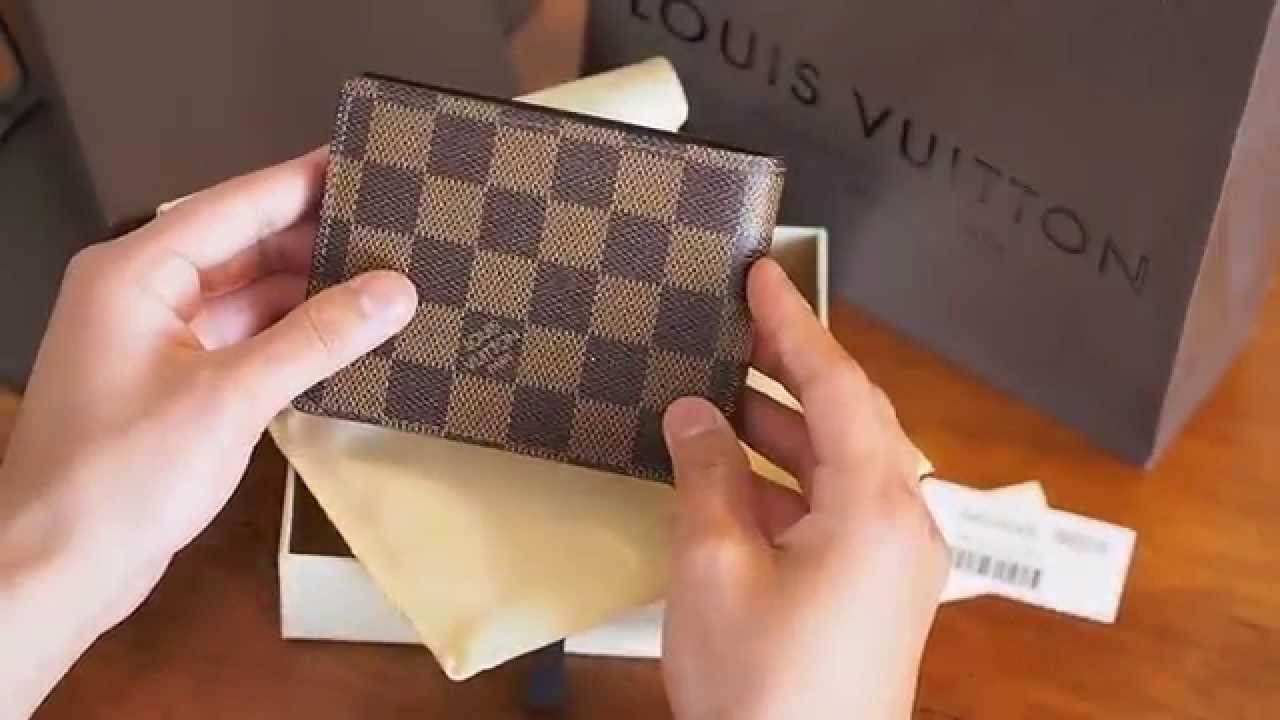 Unboxing Louis Vuitton Multiple Wallet - YouTube 86baf1e60f