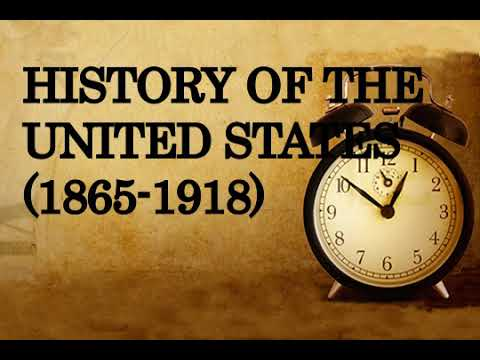 History of the United States 1865 1918