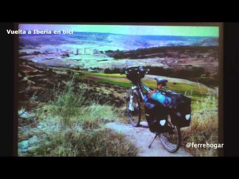 Juan Francisco Cerezo Torres: Vuelta a Iberia en Bicicleta. Alrededor de la península. Parte 1/3