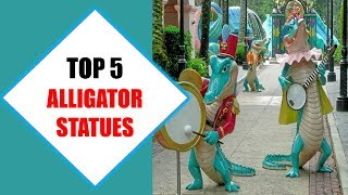 Top 5 Best Alligator Statues 2018 | Best Alligator Statue Review By Jumpy Express