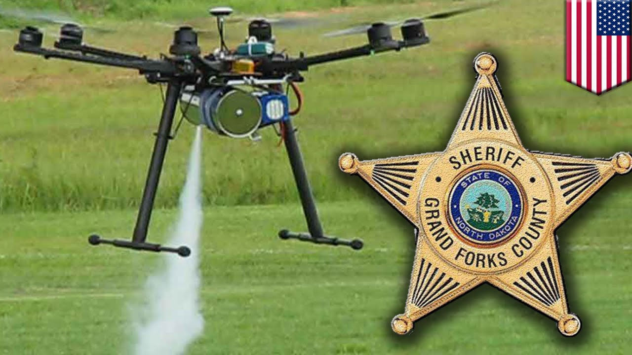 Drones Over America North Dakota Police Can Use That Fire Tasers Tear Gas