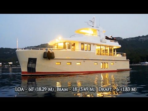Bering 60 - Steel Luxury Explorer Trawler Yacht