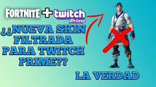 NEW TWITCH PRIME SKIN FOR FORTNITE / PACK NO. 3 / FILTRATION / TRUTH