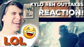 Kylo Ren Outtakes - Reaction!