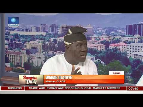 PDP Member Claims 'Buhari Not In Control Of Government' |Sunrise Daily|