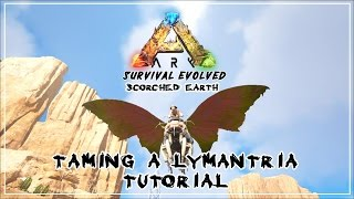 ARK: Scorched Earth - How to tame a Lymantria ( Tutorial )