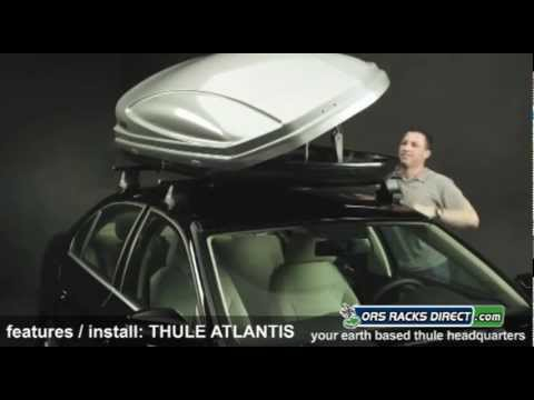 Thule Atlantis Cargo Roof Boxes Features & How To Install - ORS Racks Direct
