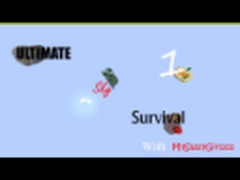 Minecraft Ultimate Sky Survival 1: I see DIAMONDS!!!