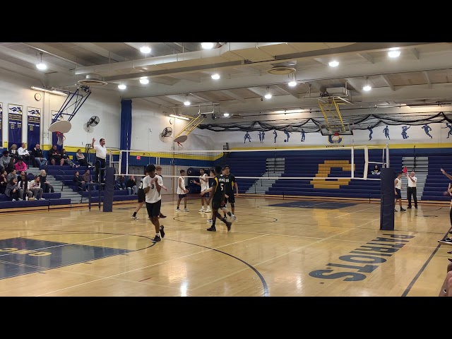 2019 NJ Boys Volleyball, GMC Quarterfinal, SB at Colonia Game2