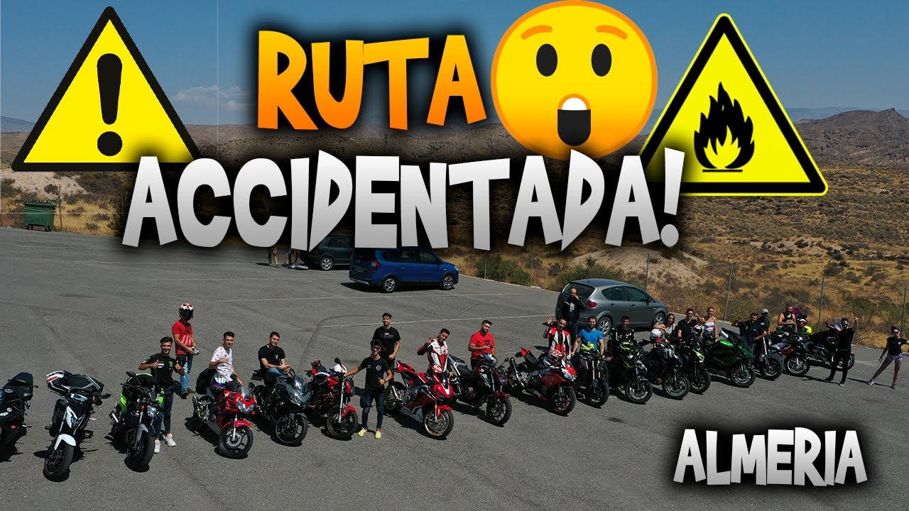 RUTA ACCIDENTADA!!😱EN ALMERIA🤯