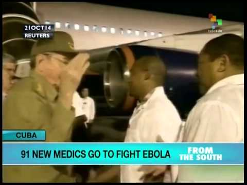 New team of Cuban medical personnel off to West Africa
