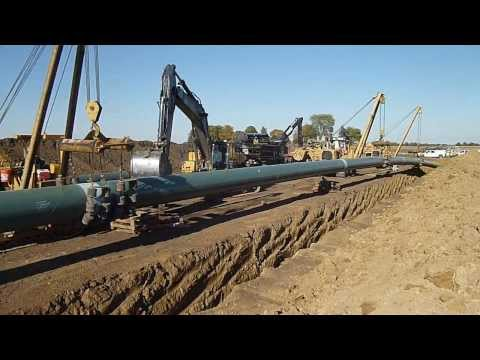 Enbridge Flanagan South Pipeline Project - October 2013, part 1