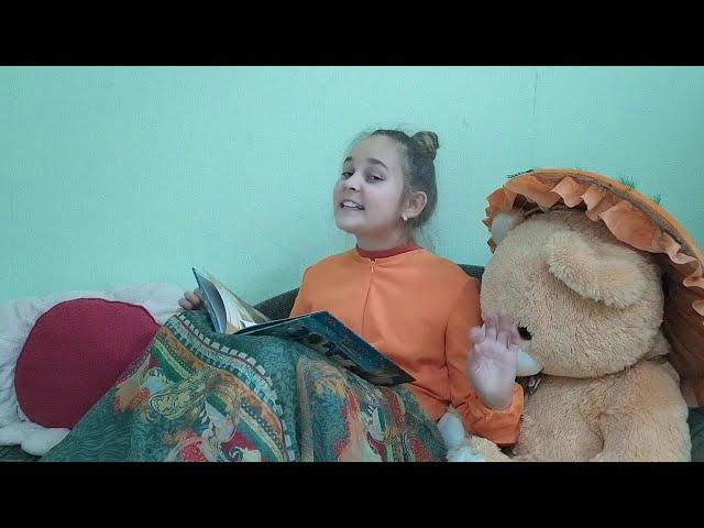 Изображение предпросмотра прочтения – ЕлизаветаРодионычева читает произведение «Бабушкины сказки» С.А.Есенина