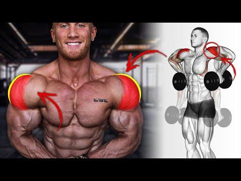 أقوى 6 تمارين جانبية  لتكبير و تضخيم كتف جانبي  Shoulder Workout