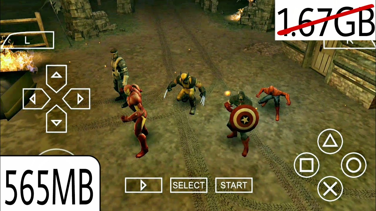 Download Marvel Ultimate Alliance 2 Highly Compressed By T Gl In