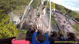 Halve Maen Onride Video 2015 - Freizeitpark Efteling NL by kirmesmarkus