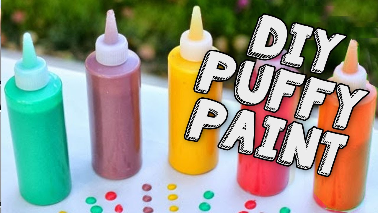 Diy puffy paint maken welke onzin of zinnig 5 youtube - Maken rode verf ...