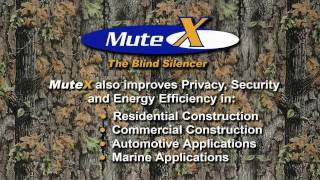mute x for hunting blinds