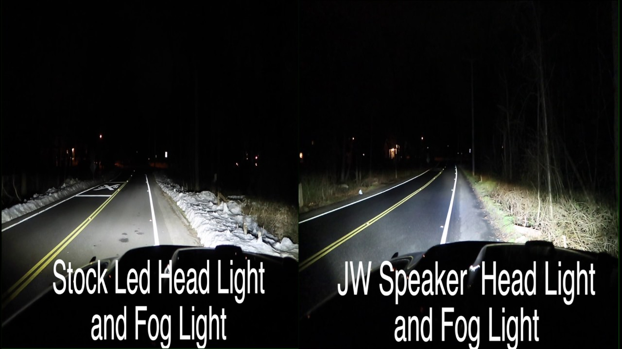 Jeep Jk Led Headlights Comparison