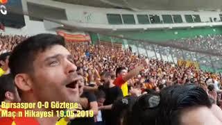 Gambar cover Bursaspor 0-0 Göztepe  19.05.2019