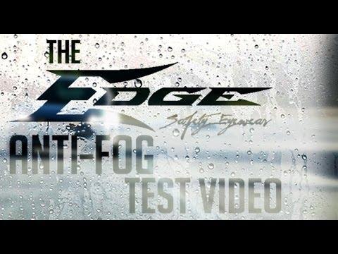 Edge Eyewear Vapor Shield Anti-Fog Technology