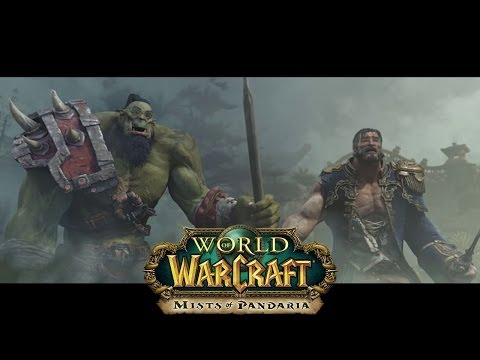 World of Warcraft: Mists of Pandaria Cinematic Trailer + Bottoms up!