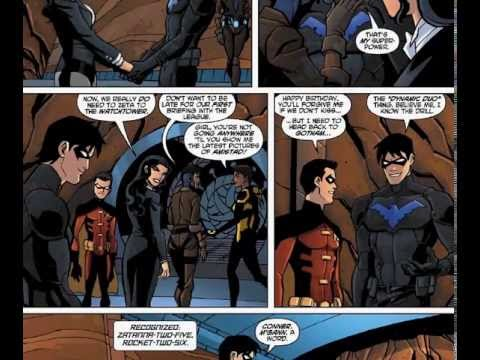 young justice comics issue 20 youtube
