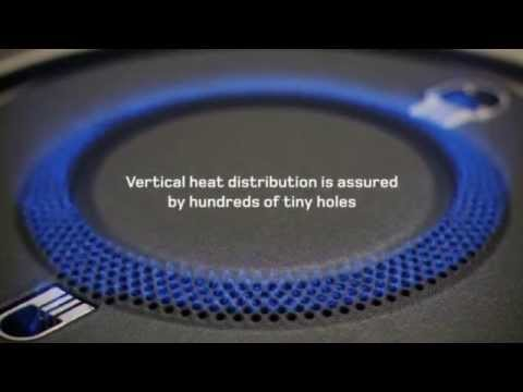 Hotpoint ariston piani direct flame arpa arredamenti youtube for Direct flame