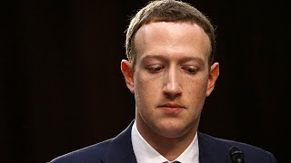 Facebook CEO Mark Zuckerberg testifies before Congress over the company's use and protection of user data in Washington on April 11, 2018.