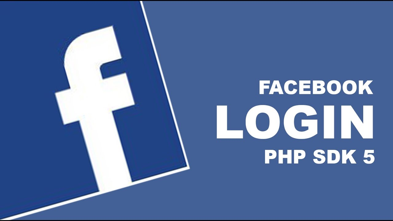 Facebook Login with php sdk 5 - YouTube